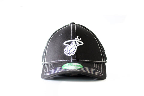 New Era Miami HEAT Youth Jr Neo Hat Black