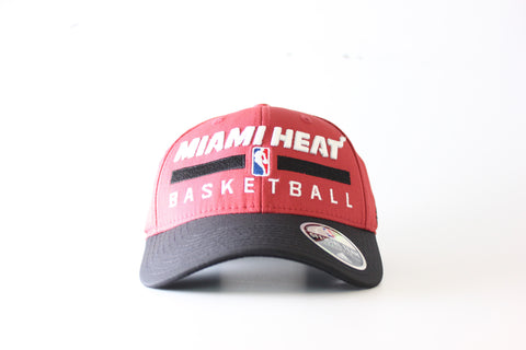 miami heat adidas PRACTICE STRUCTured ADJUSTable