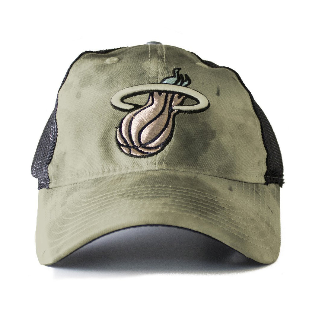 adidas Miami HEAT WATERCOLOR CAMO SLOUCH Snapback - featured image