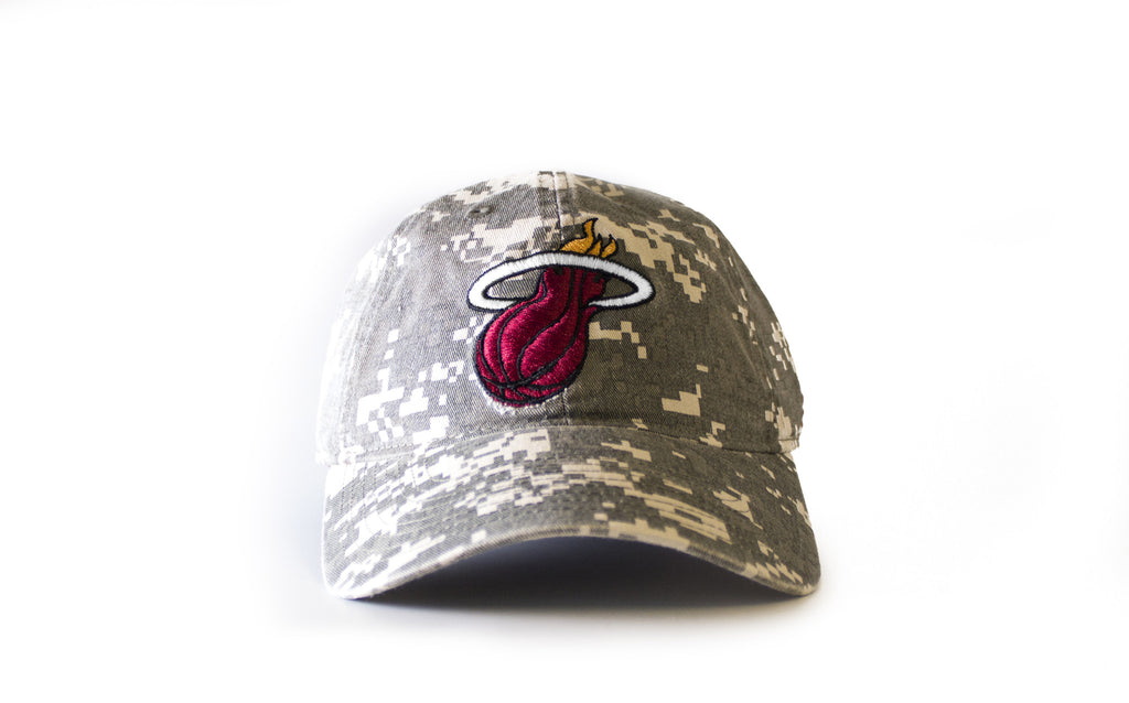 miami heat adidas DIGITAL CAMO SLOUCH - featured image