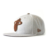 Tan/Brown Heather Strapback - 2