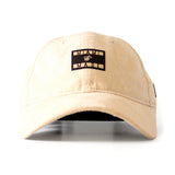 Ladies Nude Summer Suede Cap - 1