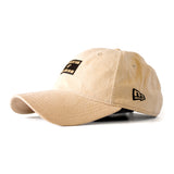 Ladies Nude Summer Suede Cap - 2