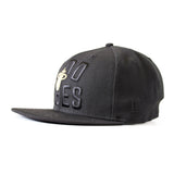 Court Culture Black Hood Vibes Fitted Hat - 2