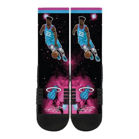 Jimmy Butler ViceWave Galaxy Socks