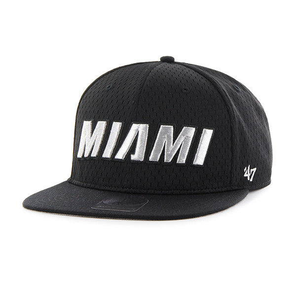 miami heat '47 brand BEAT BOX SCRIPT SNAP back - featured image