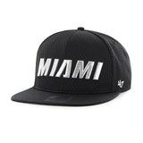 '47 Brand Miami HEAT Beat Box Script Snapback - 1