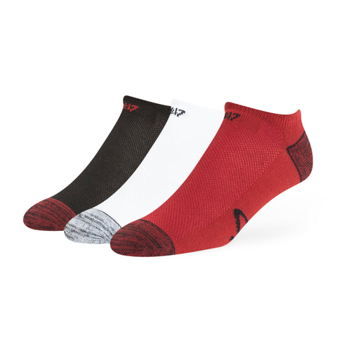 '47 Brand Miami HEAT No Show Socks 3-Pack