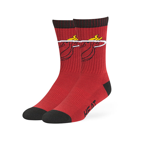 '47 Brand Miami HEAT Bolt Crew Socks - featured image