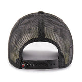 '47 Brand Miami HEAT Ladies Glimmer Text Snapback Black - 2