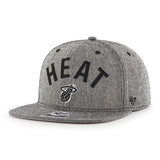 '47 Miami HEAT Herring Arch Captain Snapback - 1