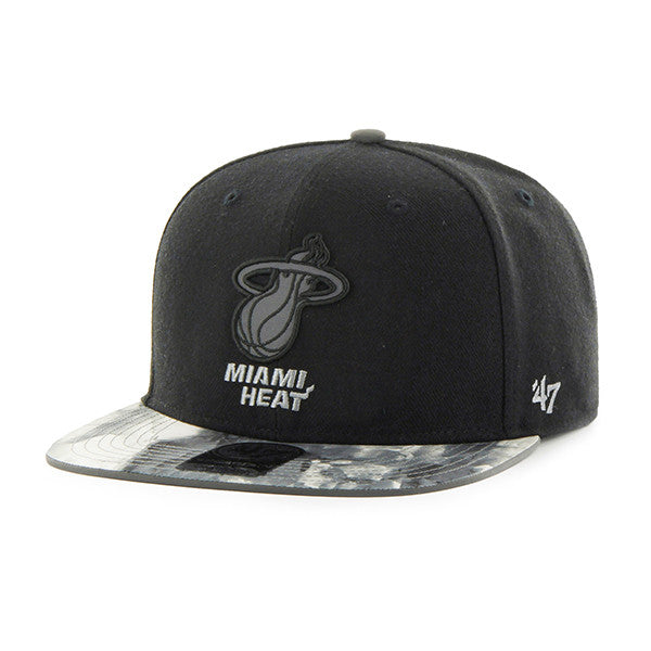 miami heat '47 brand ICE CAPTAIN SNAP back