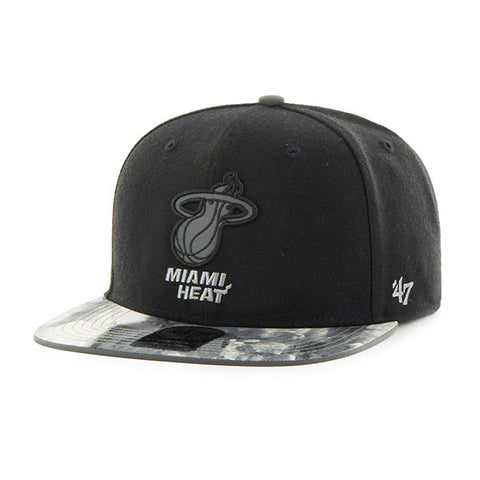 '47 Brand Miami HEAT Ice Captain Snapback