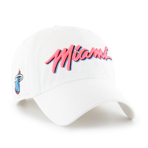 '47 Miami HEAT City Edition Cleanup Adjustable Hat