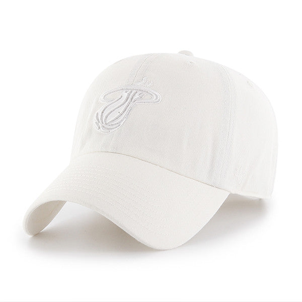 '47 Miami HEAT White Clean Up Adjustable Cap - featured image