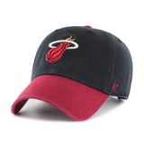 '47 Brand Miami HEAT 2Tone Cleanup Adjustable Cap - 1