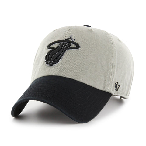 '47 Brand Miami HEAT 2Tone Cleanup Adjustable Cap