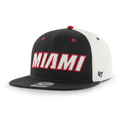 '47 Brand Miami HEAT Sidekick Captain Snapback