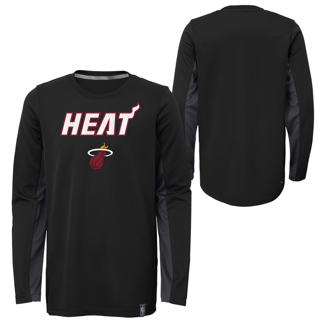 Miami HEAT Youth Long Sleeve Shooter Tee - featured image