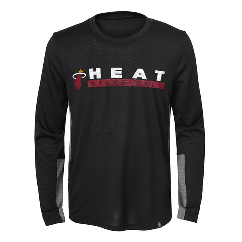 Miami HEAT Youth long Sleeve Covert Tee