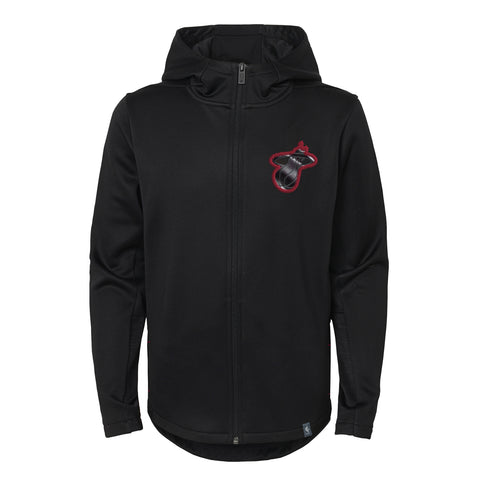 Miami HEAT Youth Ballistic Full-Zip Hoodie
