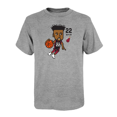Miami HEAT Youth Butler Pixel Tee