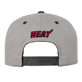 Miami HEAT Youth Concrete Snapback - 2