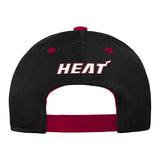 Miami HEAT Youth Ultra Tech Structured Adjustable Hat - 2