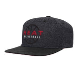 Miami HEAT Youth Ultra Flatbrim Snapback - 3