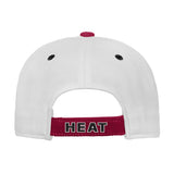 Miami HEAT Kids Color Block Adjustable Hat - 2