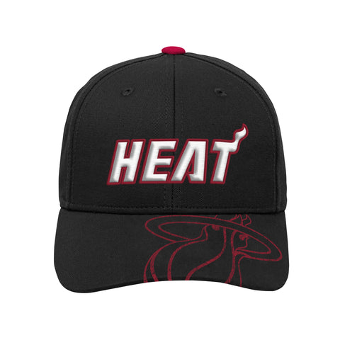 Miami HEAT Kids Center Structured Adjustable Hat