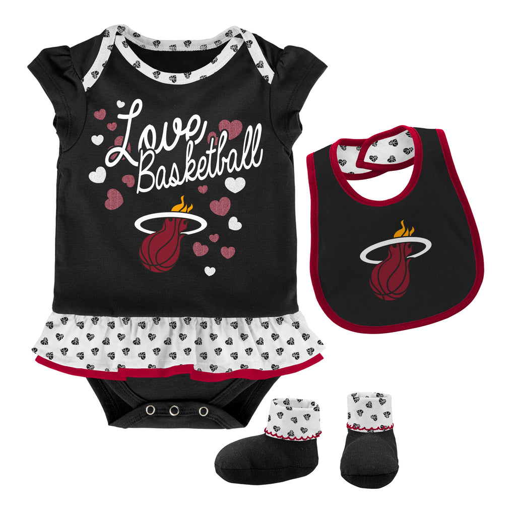 Miami HEAT Toddler Little Sweet Bib & Bootie - featured image