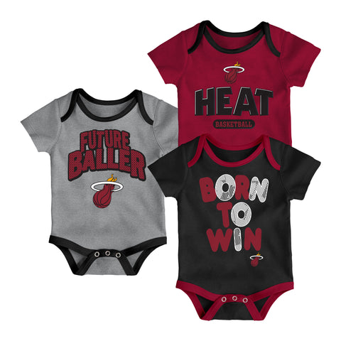 Miami HEAT Little Fan 3 Piece Creeper
