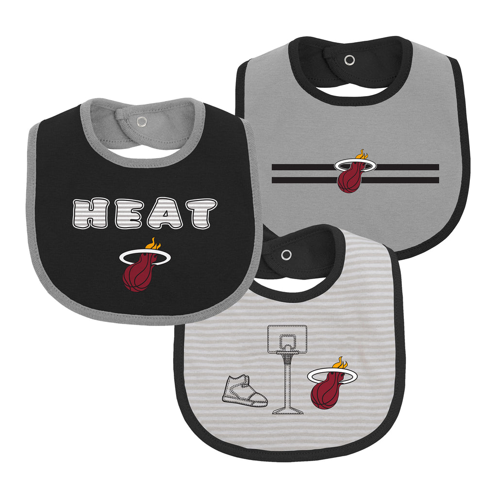 Miami HEAT 3 Piece Bib Set - featured image