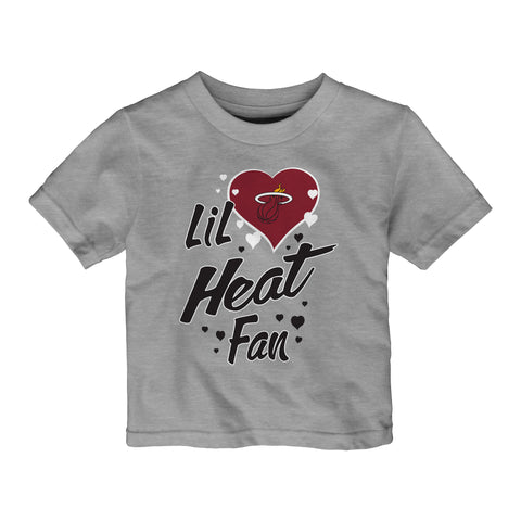 Miami HEAT Girls Toddler Lil Fan Tee