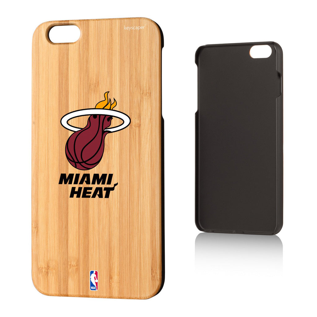 Miami Heat Bamboo iPhone 6, 6+, 7 & 7+ Case - featured image
