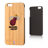 Miami Heat Bamboo iPhone 6, 6+, 7 & 7+ Case - 1