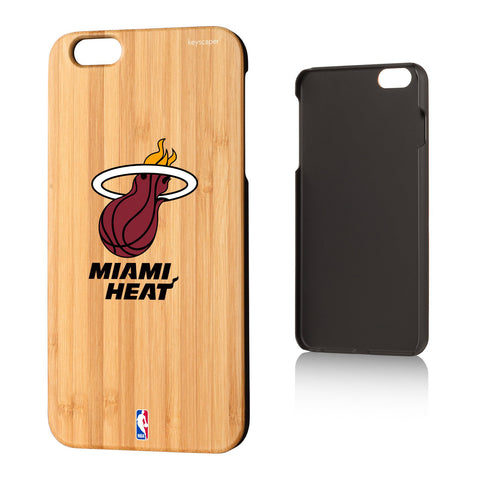 Miami Heat Bamboo iPhone 6, 6+, 7 & 7+ Case