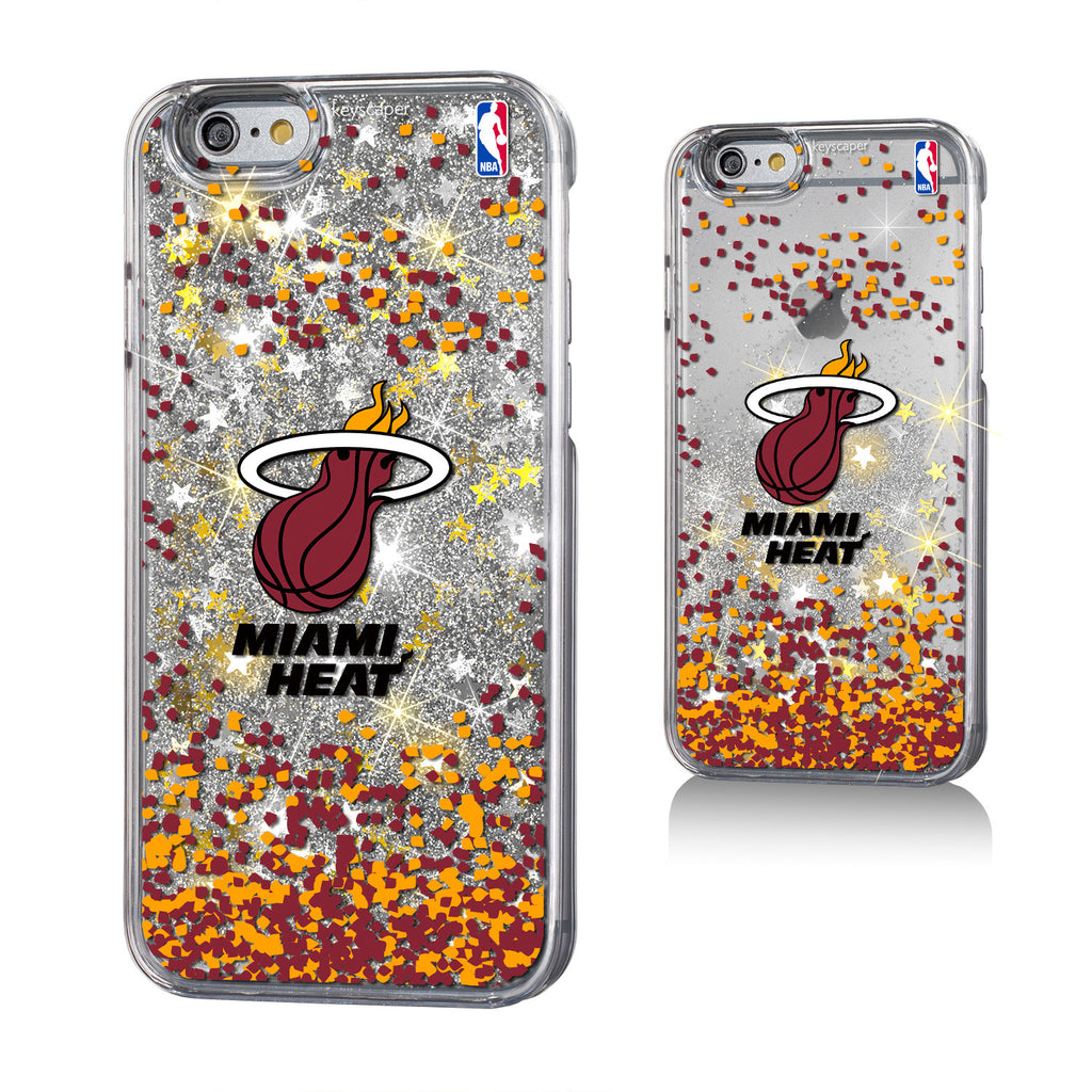 Keyscaper Miami Heat Gold Glitter iPhone 6, 6+, 7 & 7+ Case - featured image