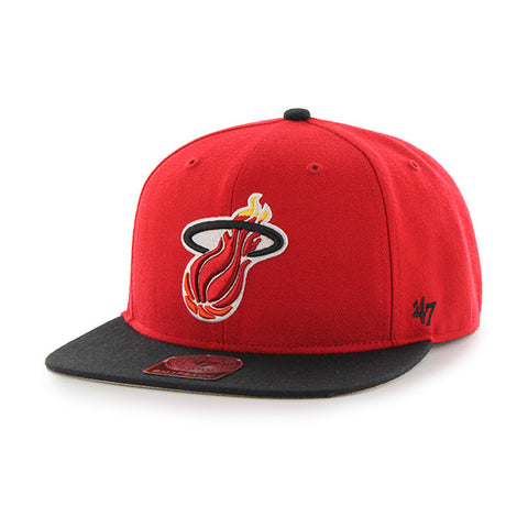 '47 Miami HEAT Red Sure Shot Two Tone Cap