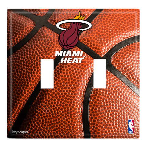 Keyscaper Miami HEAT Double Switch Cover Toggle