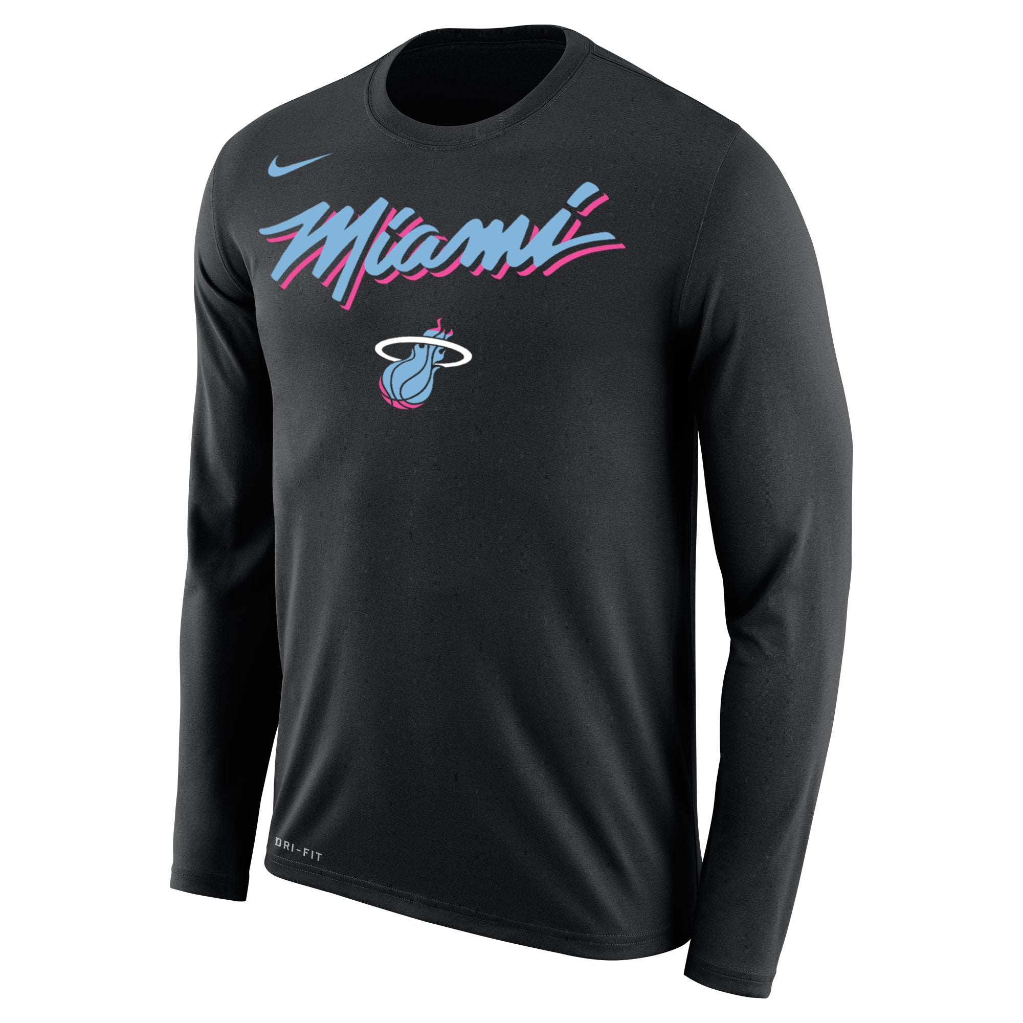 270396cb Nike Vice Nights Legend Long Sleeve MIAMI Tee – Miami HEAT Store