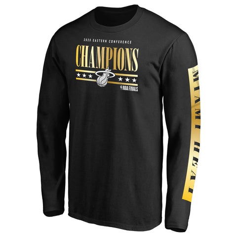 Fanatics Eastern Conference Champion Long Sleeve HEAT Dive Tee