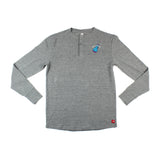 Sportiqe Miami HEAT Vice Nights Long Sleeve Campbell Thermal Henley - 1