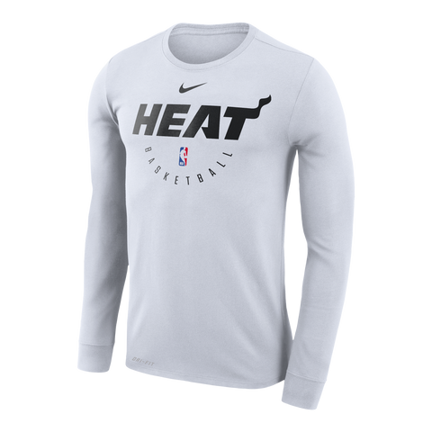 Nike Miami HEAT Long Sleeve 2018 Practice Tee