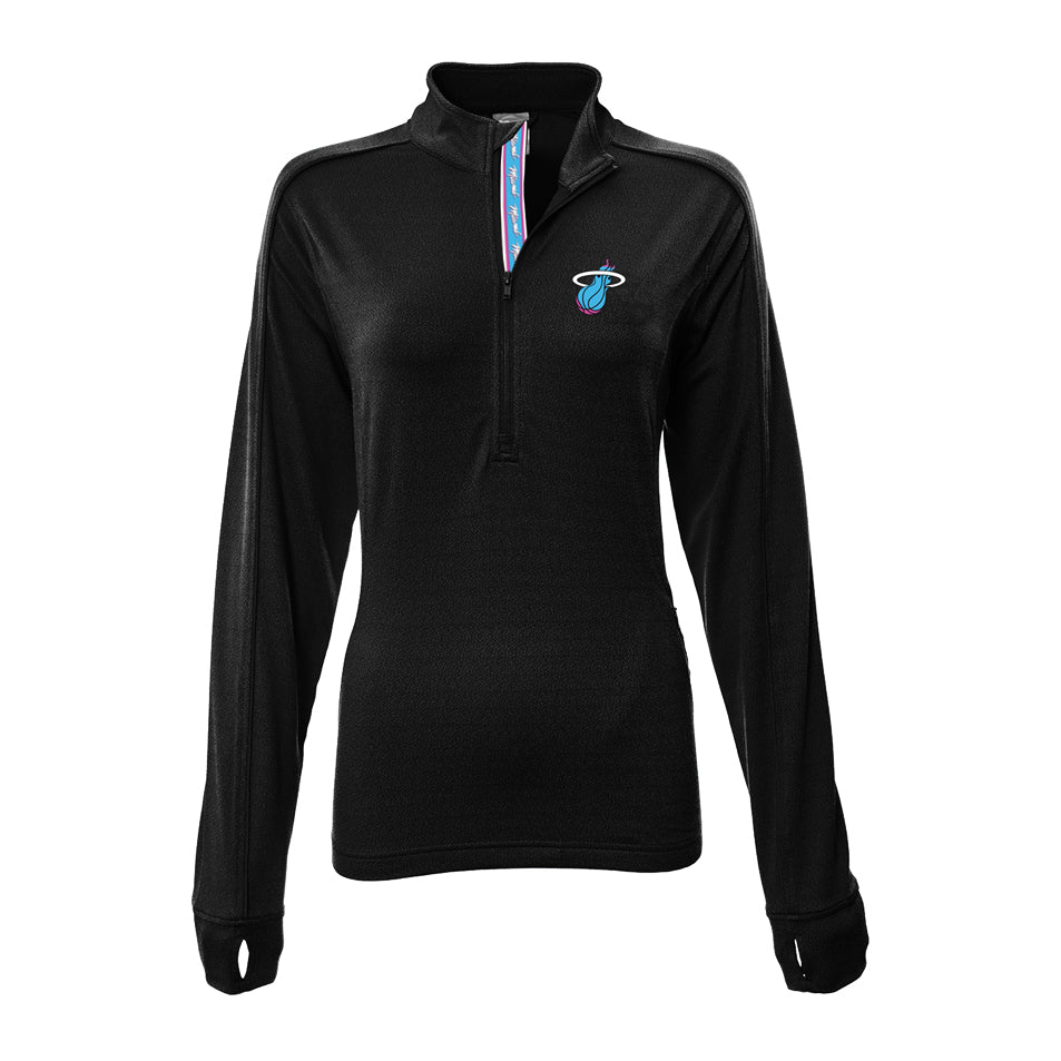 Levelwear ViceWave Ladies Pacer 1/4 Zip Jacket - featured image