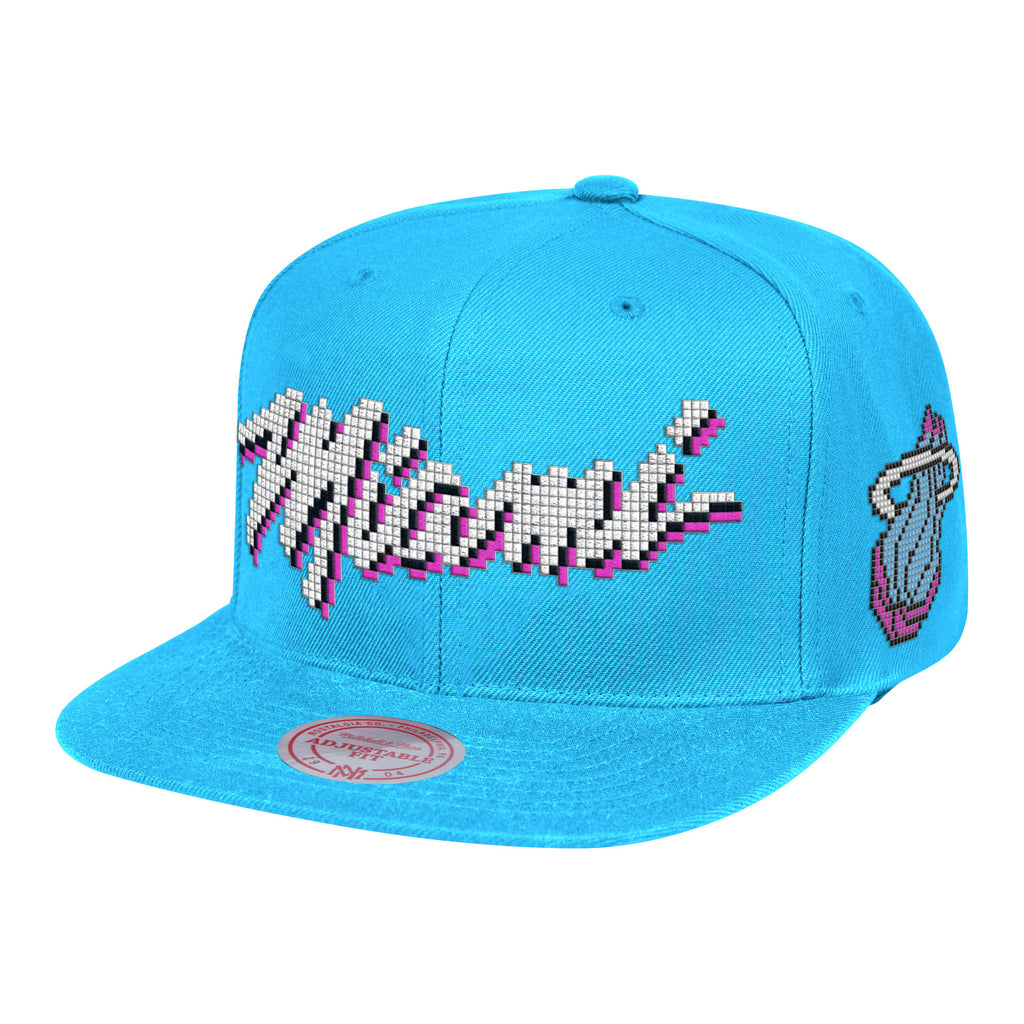 Mitchell & Ness ViceWave Miami 8-Bit Snapback - featured image