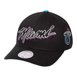 Mitchell & Ness ViceWave Miami Neon Dad Snapback - 1