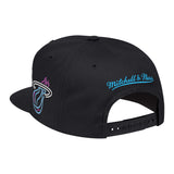 Mitchell & Ness ViceWave Miami Neon Light Snapback - 2