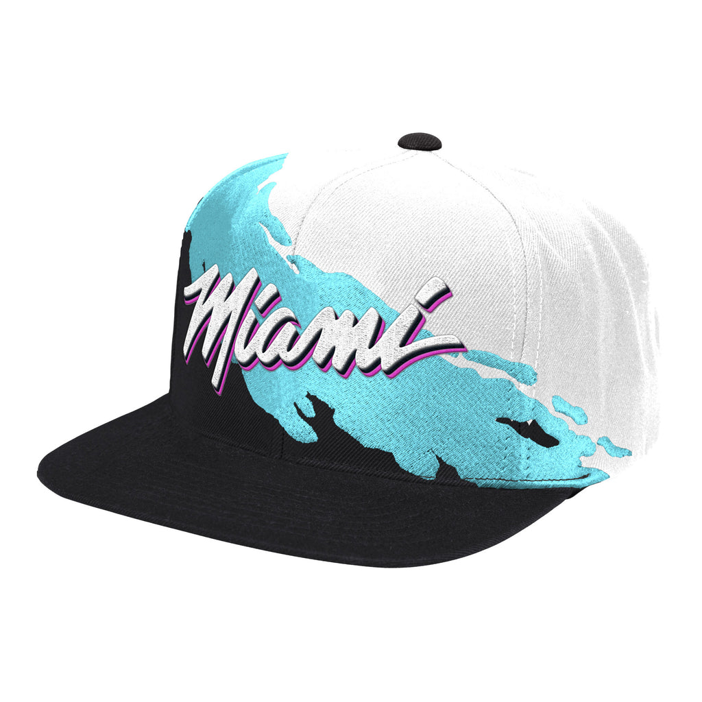 Mitchell & Ness ViceWave Miami Paintbrush Snapback - featured image